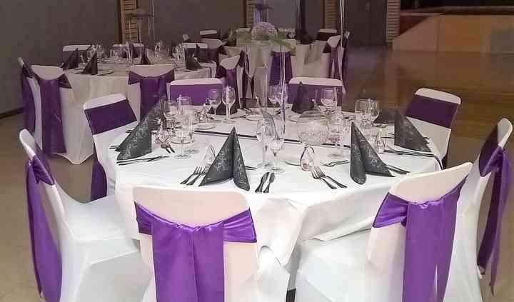 Thème violet et gris