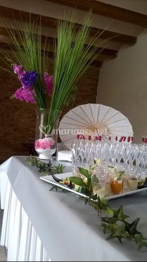 Buffet de cocktail
