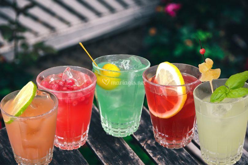 5 cocktails alcoolisés