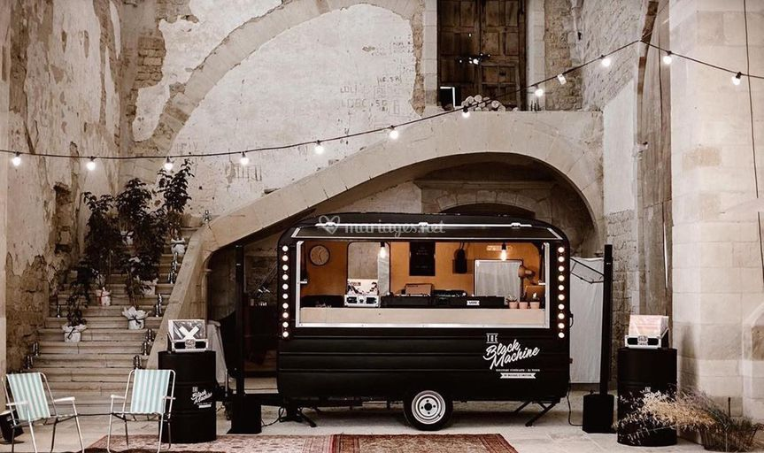 The Black Machine DJ Truck