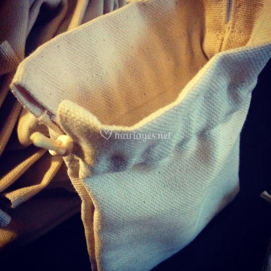 Pochon - lin sur Galon d'Ingres Couture