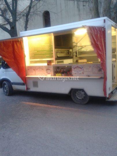 Camion giro  pizza