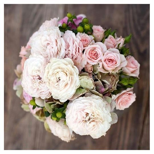 Bouquet mariée bohéme chic