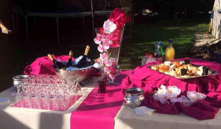 Buffet cocktail dînatoire