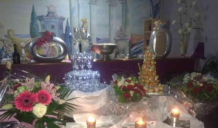 Buffet fontaine de champagne