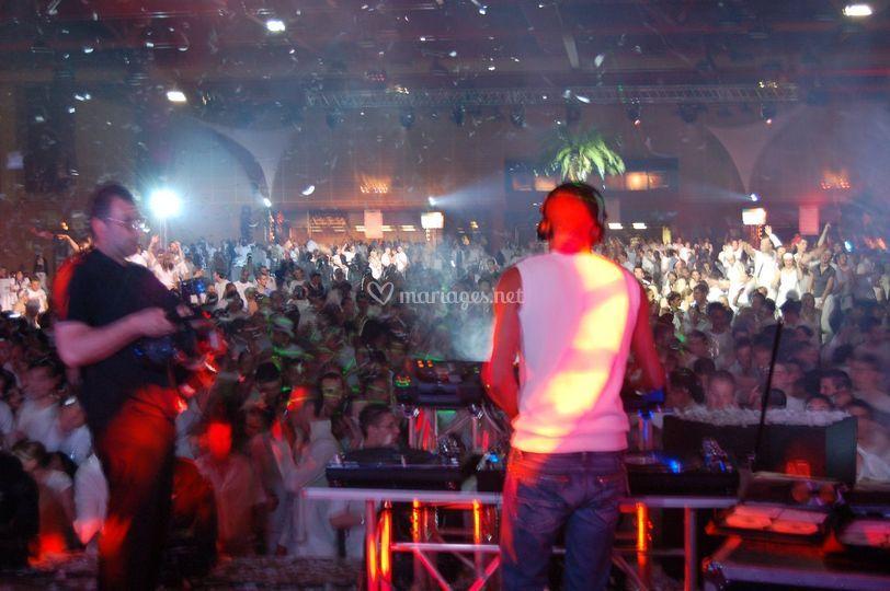 Soiree disco 4000 personnes