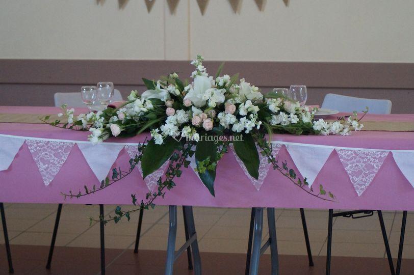 Composition table d honneur