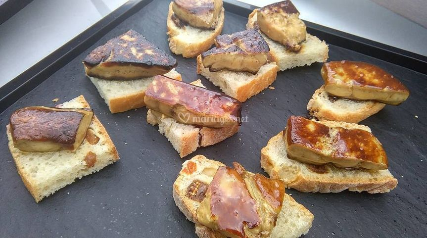 Atelier foie gras chaud