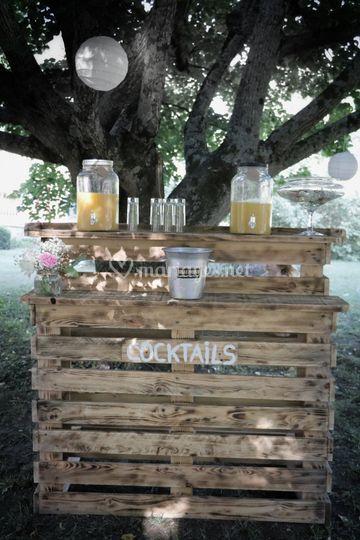 Création bar à cocktails
