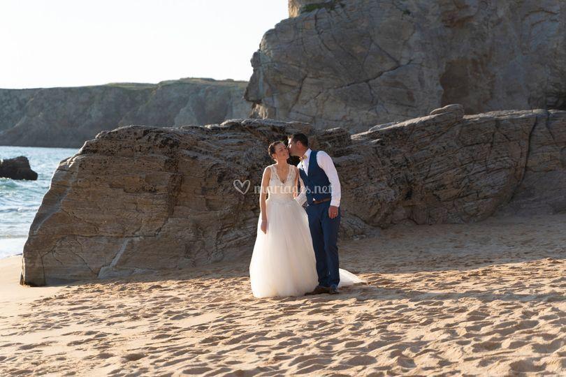 Photo mariage quiberon