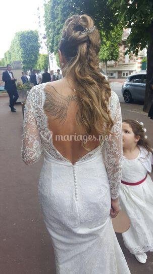 Robe de mariée tout dentelle