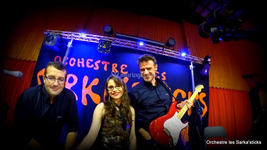 Notre orchestre avec Caroline