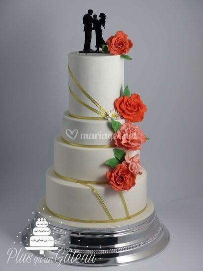 Wedding cake octobre 2017