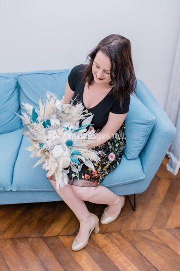 Estelle, fleuriste créatrice