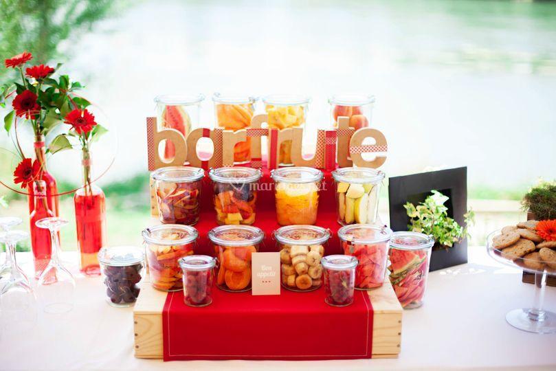 Bar fruité - Event-planner