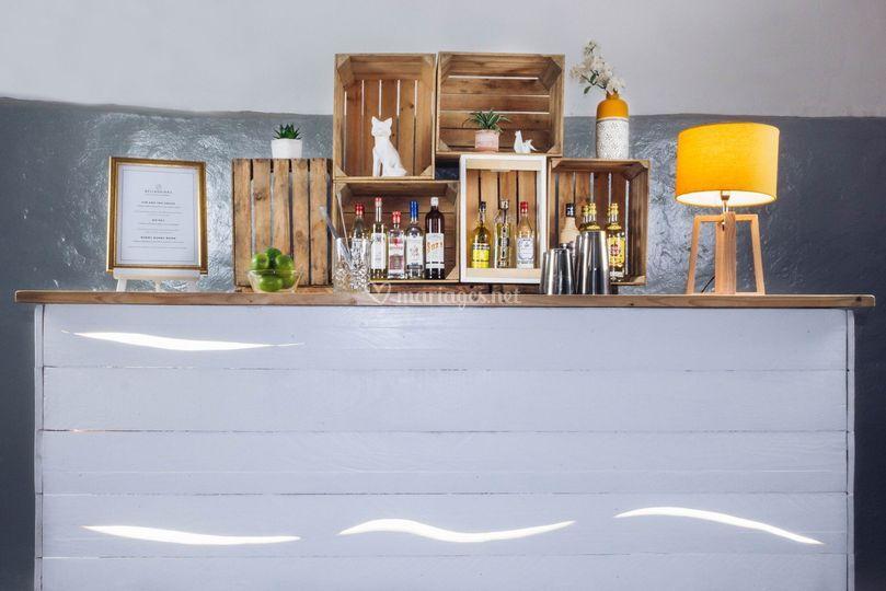 Ambiance bar scandinave