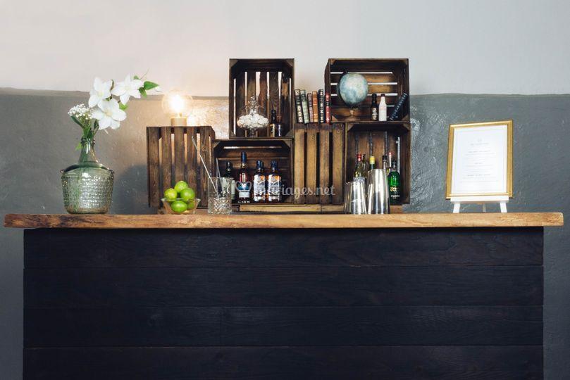 Ambiance bar vintage