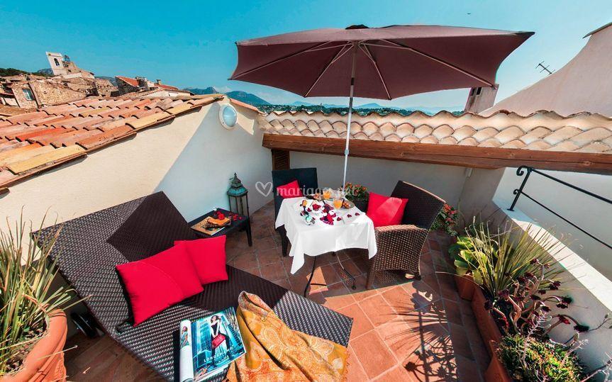 Suite terrasse privée
