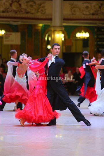Danse standard - tango