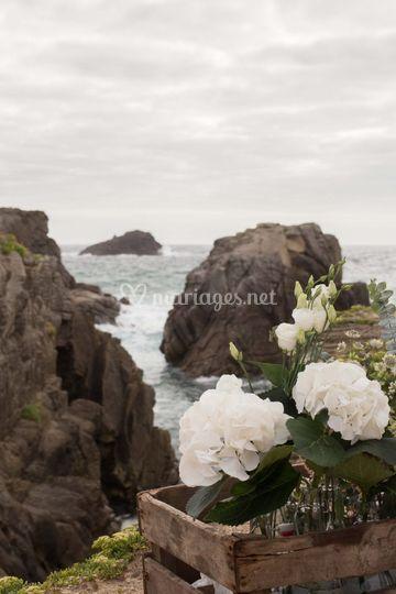 Quiberon mariage plage