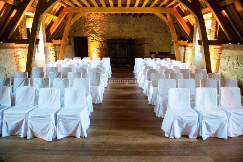 Mariage intime en hiver