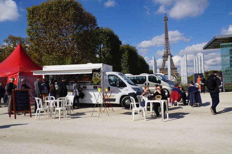 Place Joffe à Paris