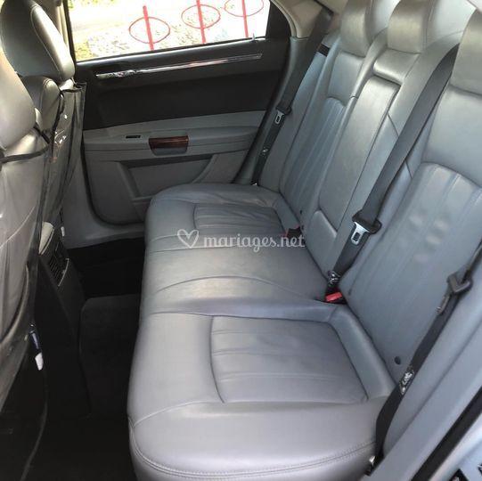 Intérieur arrière Chrysler