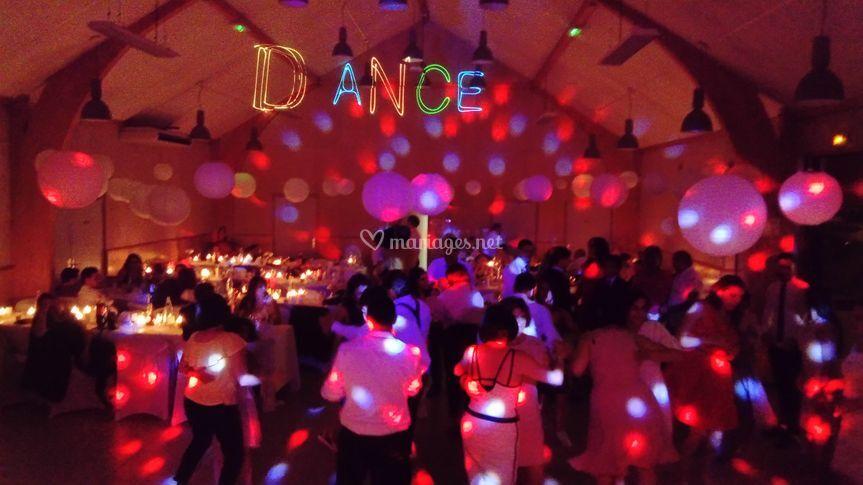 Ambiance sur la Piste de danse