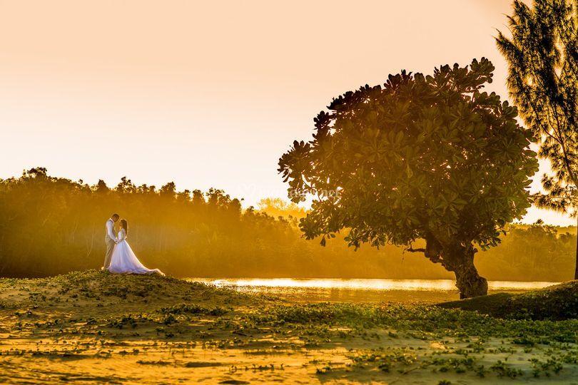 Mariage a l'île Maurice