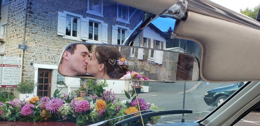Baiser GTO mariés