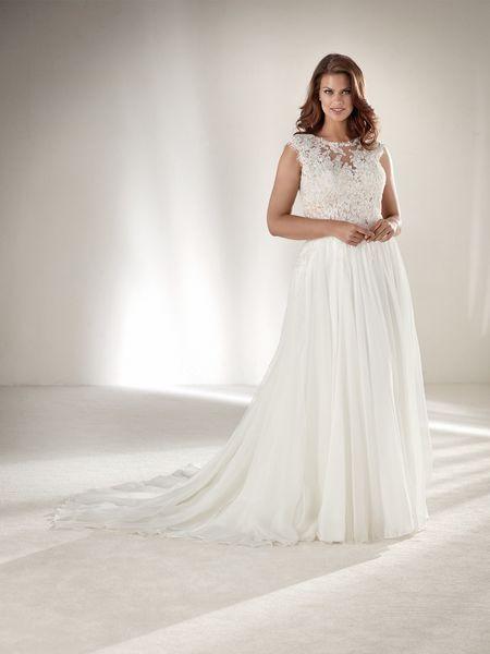 acheter populaire 7dbe7 d63a9 40 robes de mariée pour les femmes rondes