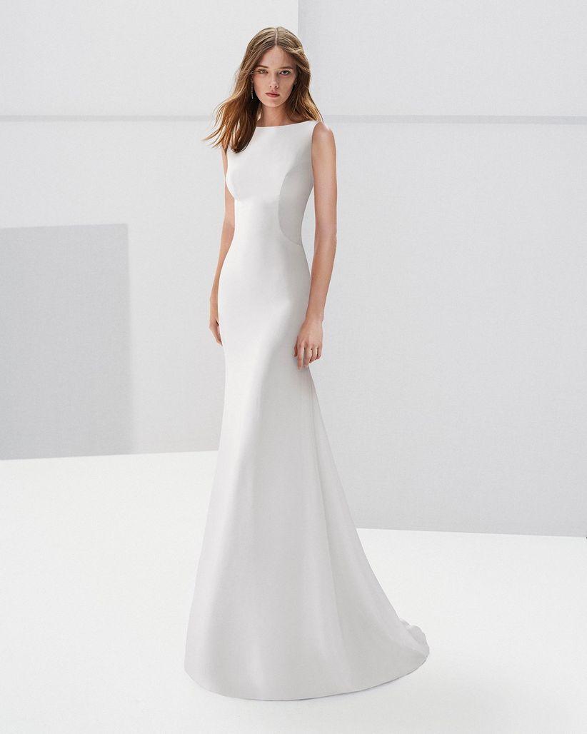 cae8d083bcfee8 35 robes de mariée simples et élégantes comme celle de Meghan Markle