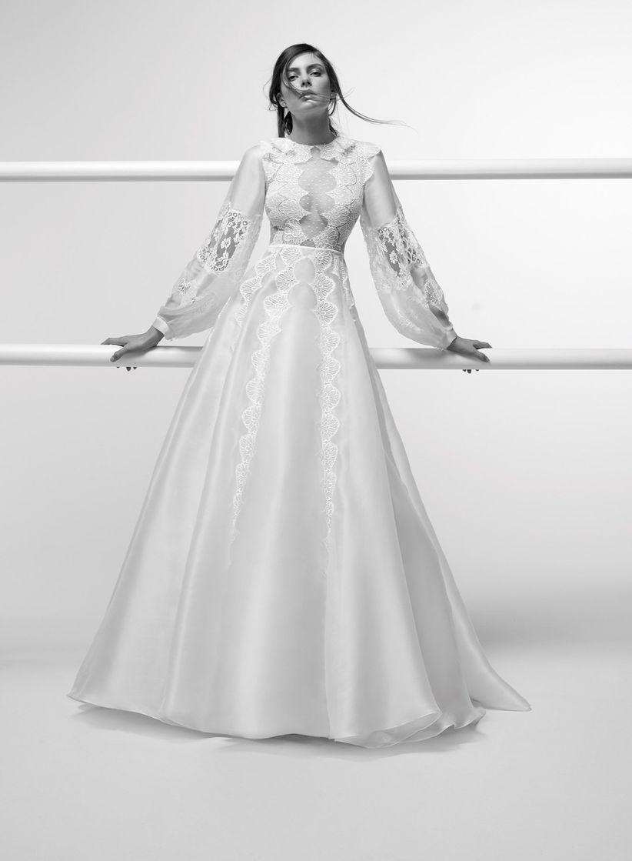 80 robes de mari e vintage pour un look romantique et dans l 39 air du temps. Black Bedroom Furniture Sets. Home Design Ideas
