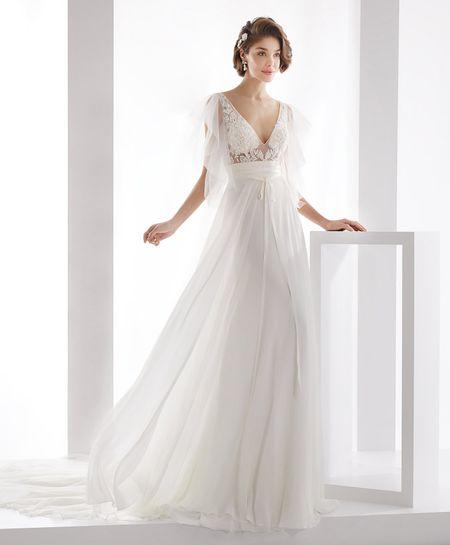 Robes De Mariée Empire 30 Modèles à La Grecque Pour Le