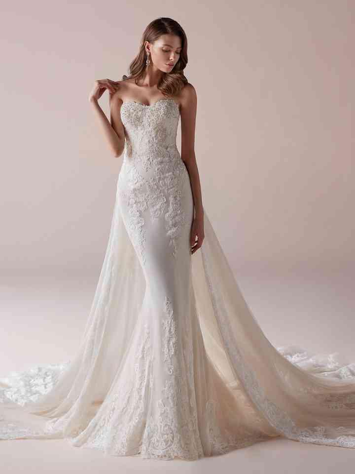 40 Robes De Mariée Avec Traîne Amovible à Vous Le Double Look