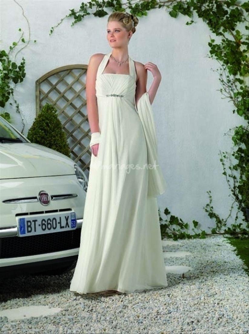 14 robes pour les mariées enceintes 1