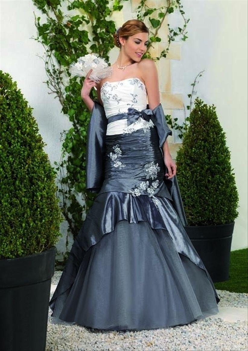 robes de mariage grises