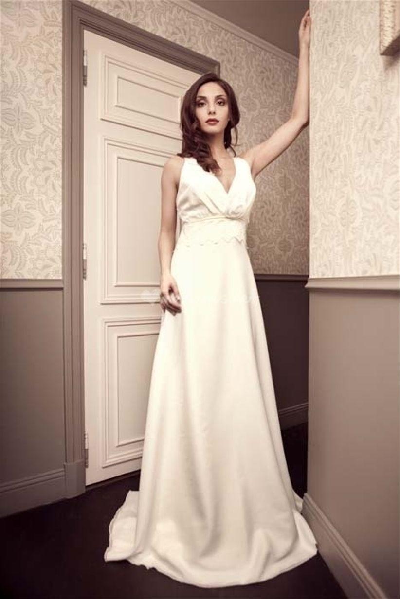 14 robes pour les mariées enceintes 6