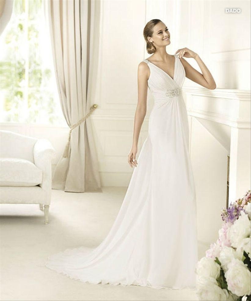 14 robes pour les mariées enceintes 8