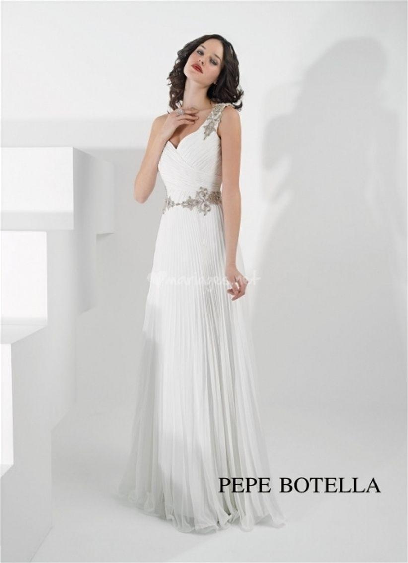 14 robes pour les mariées enceintes 9