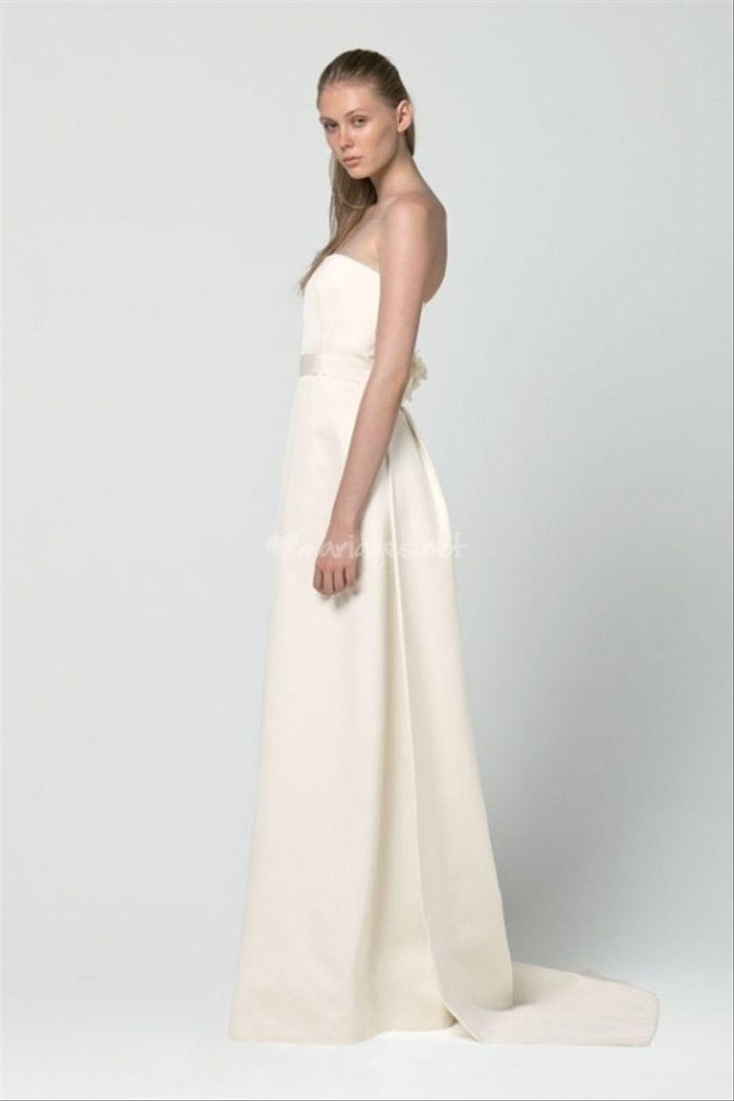 14 robes pour les mariées enceintes 2