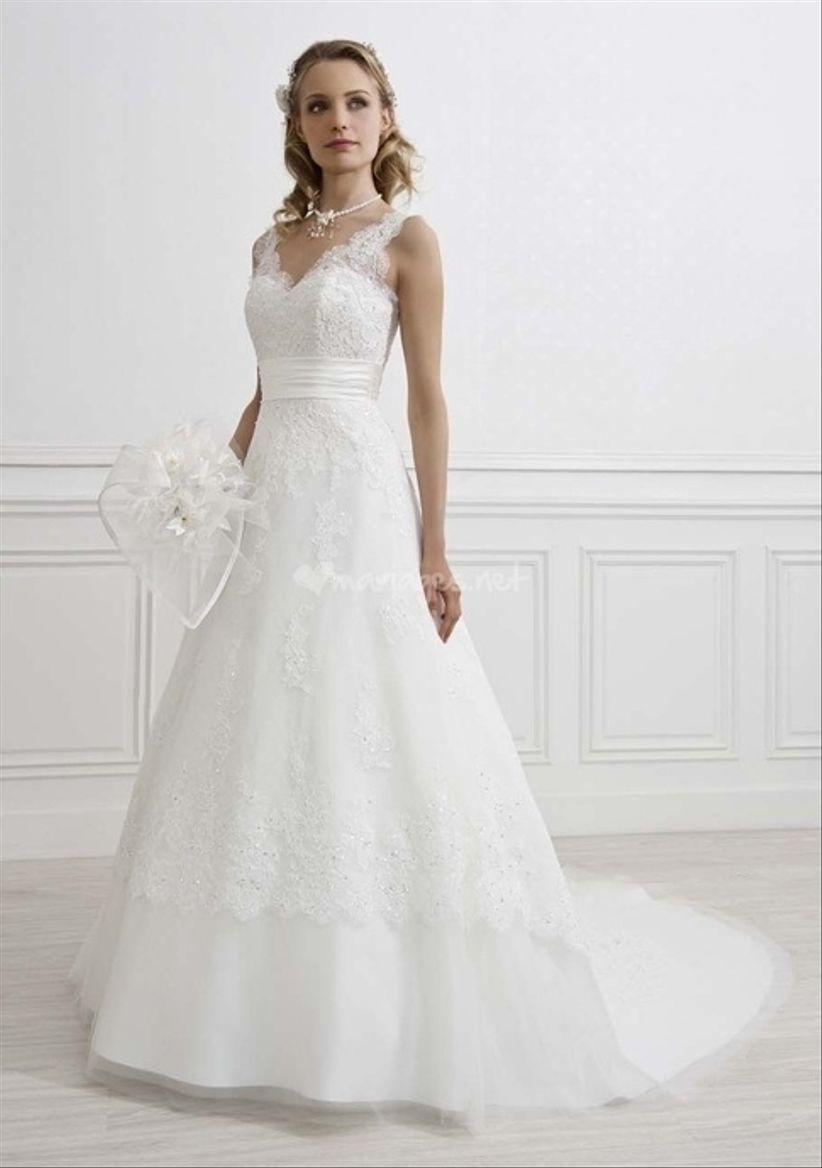 quelle robe de mariee pour forte poitrine