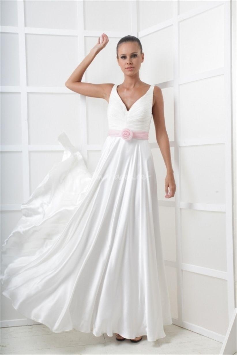 14 robes pour les mariées enceintes 7