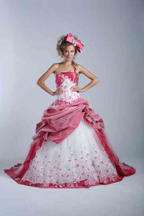 10 Robes De Mariee Roses 2014