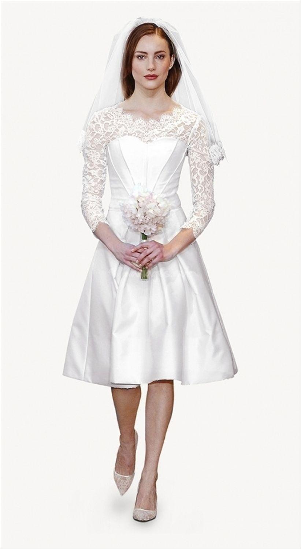 Robes de mari e carolina herrera collection 2014 for Combien sont les robes de mariage de caroline herrera