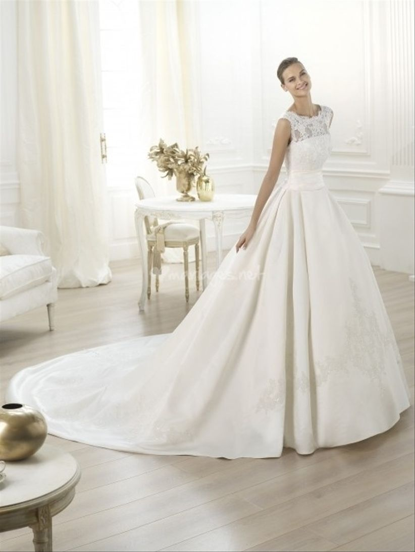 Robes de mariée coupe princesse