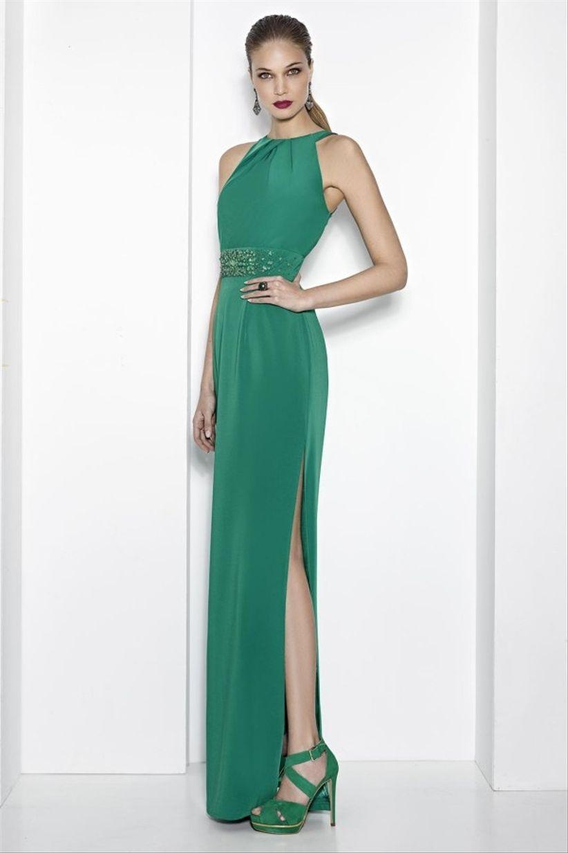 6d317bcd815 40 robes de cocktail vertes   la tenue gagnante pour les invitées de ...
