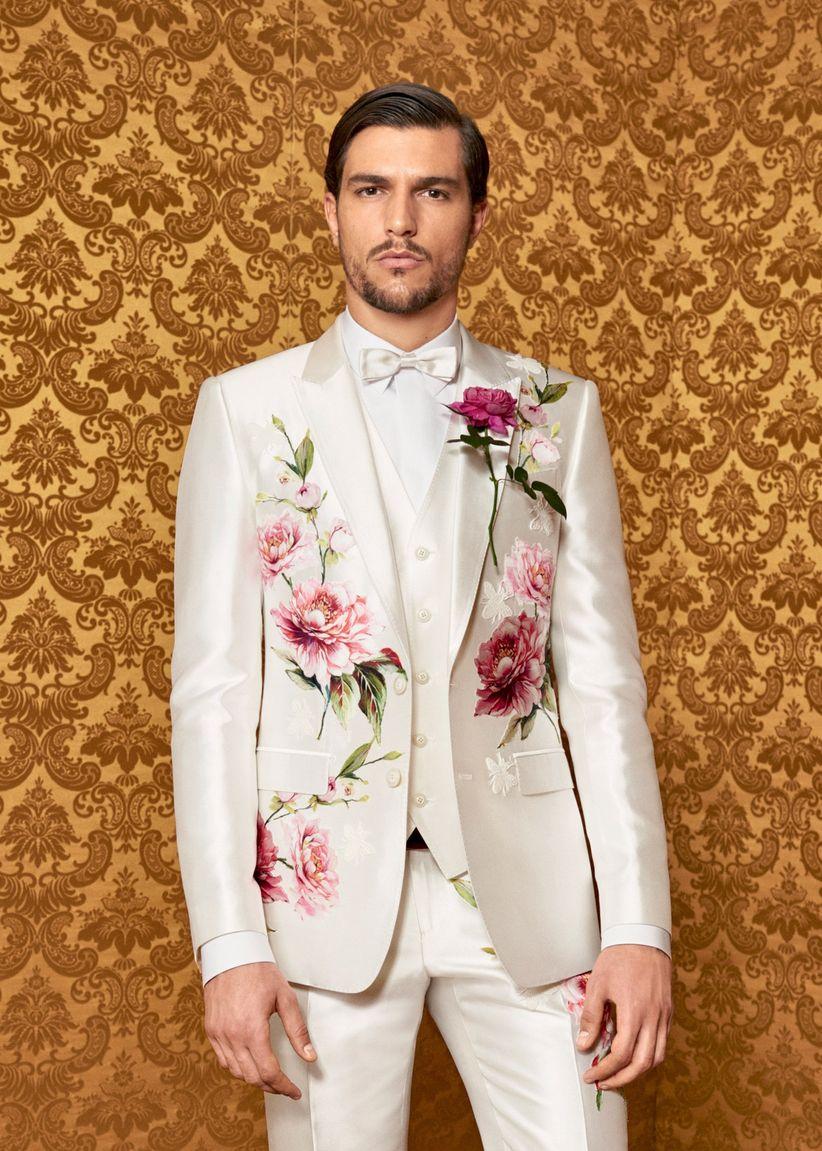 e38eb08951513 Costumes de marié 2017 - Dolce Gabbana   quand l élégance côtoie l ...