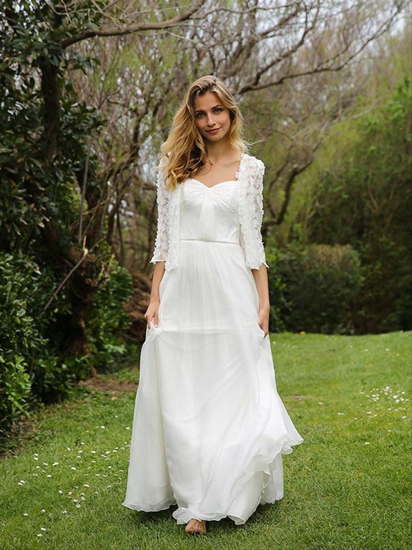 9a4d6b65656 Robes de mariée Marie Laporte 2017   une collection pleine de vitalité