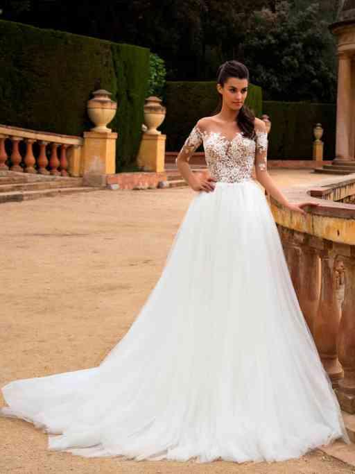 Les 40 plus belles robes de mariée coupe